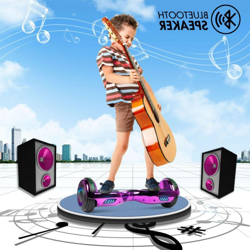 6.5 inch Hoverboard Self Balancing Board for Kids UL2272