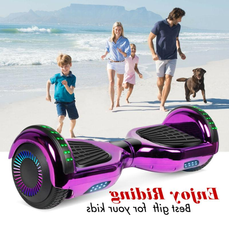 6 5 inch bluetooth hoverboard self balancing