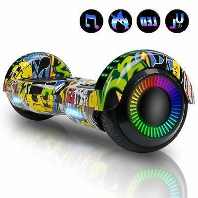 6.5 Rainbow Hoverboard Smart Self Balancing Electric