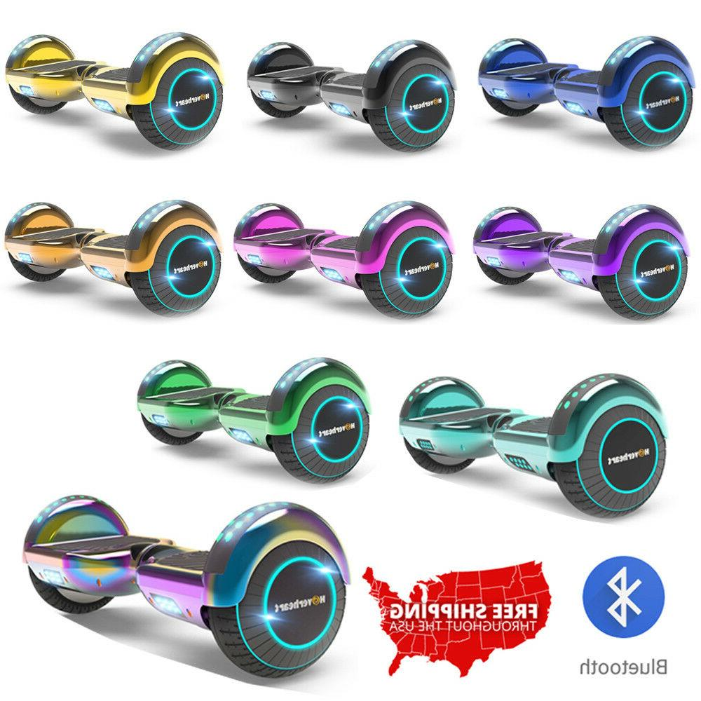 6.5 LED FLASHING Chrome Color Scooter Listed