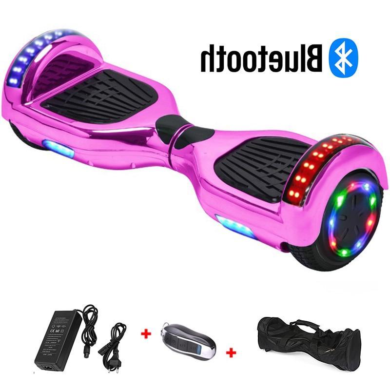 6.5 Wheel Hoverboard Skateboard <font><b>scooter</b></font> Drift Self Board