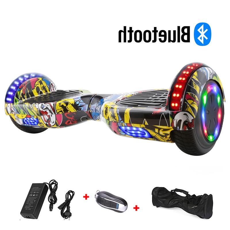 6.5 inch Smart Wheel Skateboard <font><b>Electric</b></font> <font><b>scooter</b></font> Drift Standing Hoverboard Board