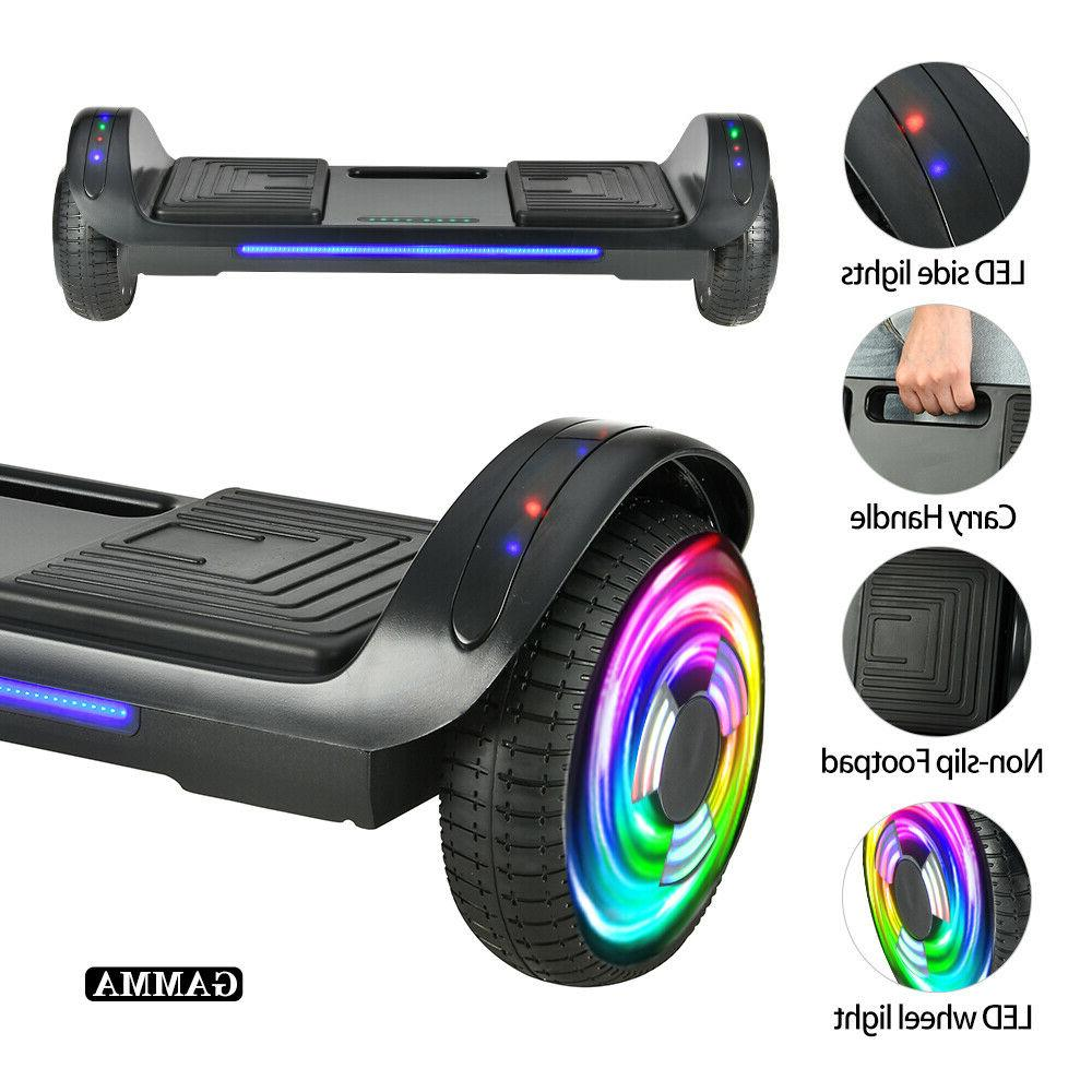 6 5 led bluetooth hoover board electric