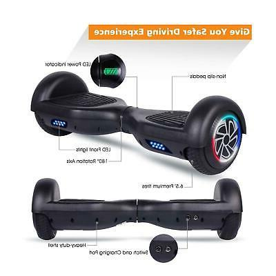 """6.5"""" LED Hoverboard Wheel Scooter No UL"""