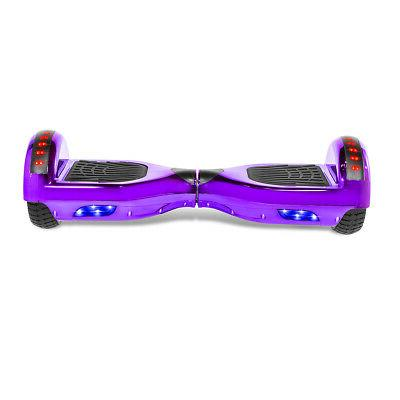 "6.5"" Hoverboard Scooter Chrome Purple with Speaker"