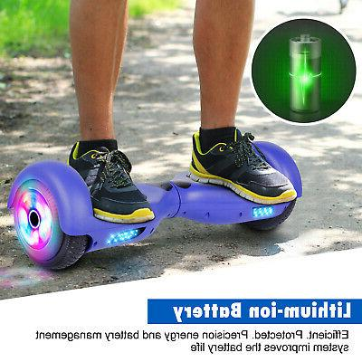 """6.5"""" LED Hoverboard Electric UL"""
