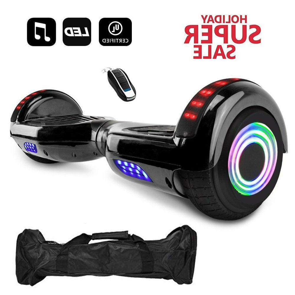 """6.5"""" LED Wheels Hoover boards Electric Self"""