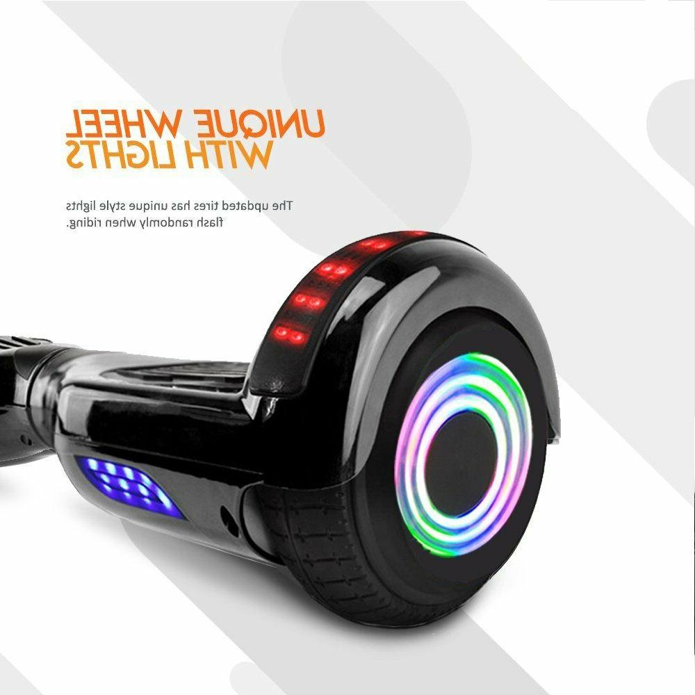 """6.5"""" Hoover Chrome Self Balancing Scooter"""