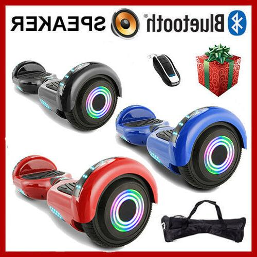 """6.5"""" Wheels Hoover boards Chrome Self Balancing Scooter"""