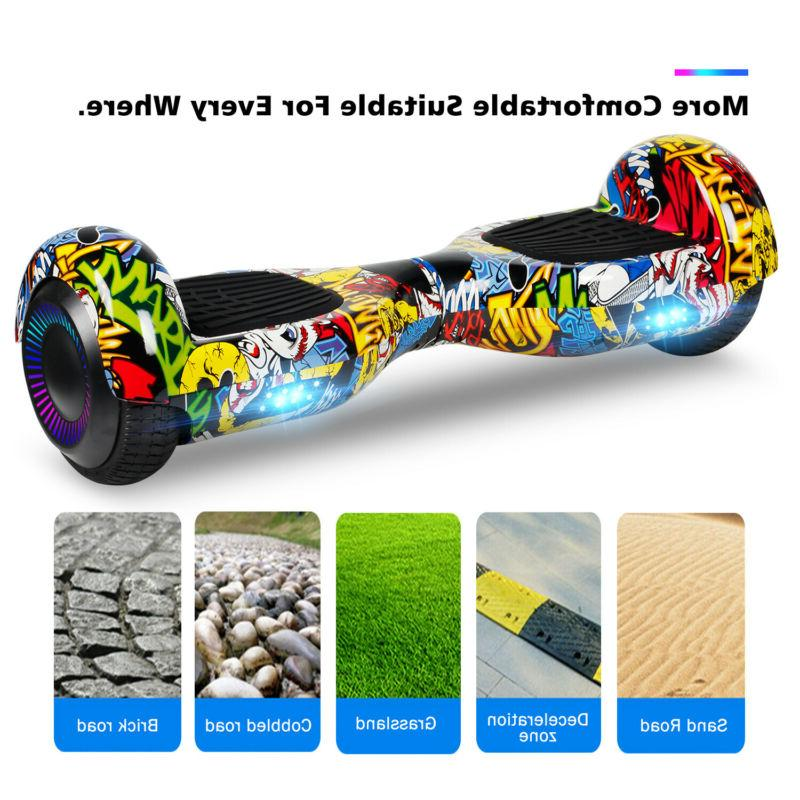 """6.5"""" Hoverboard Electric Self Balancing LED"""