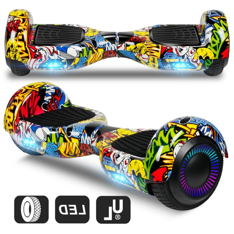 """6.5"""" Off Hoverboard Electric LED UL2272"""