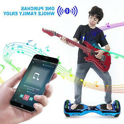 6.5'' Self Board LED Scooter no Bag For Kids
