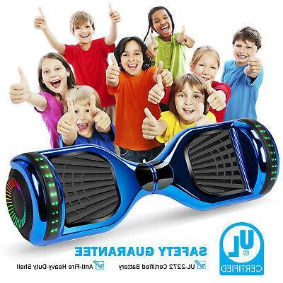 6.5'' Hover Board W/ Speaker LED For Kids