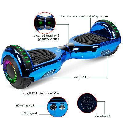 6.5'' Scooter Hover W/ Speaker For Kids