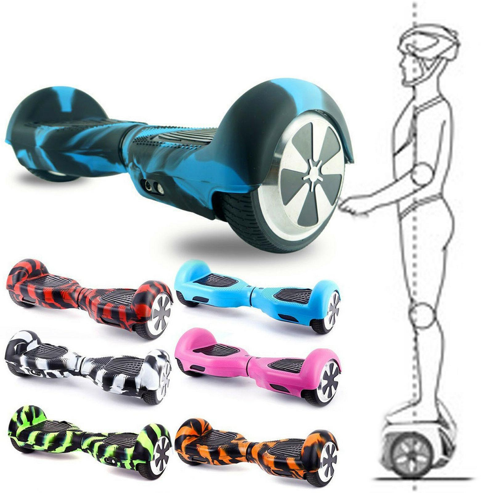"""6.5"""" Self Balancing Electric Scooter Hover Board + Silicone"""