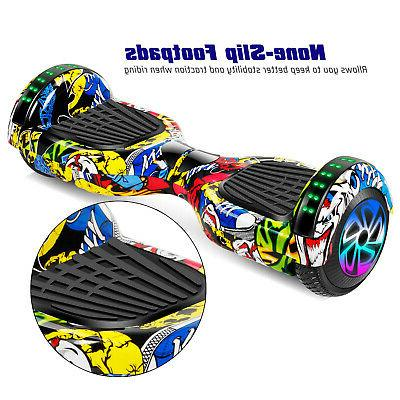 "6.5"" Electric 2 Wheel Hoverboard With"