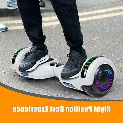 """6.5"""" Balancing Hoverboard w/ Speaker/LED"""
