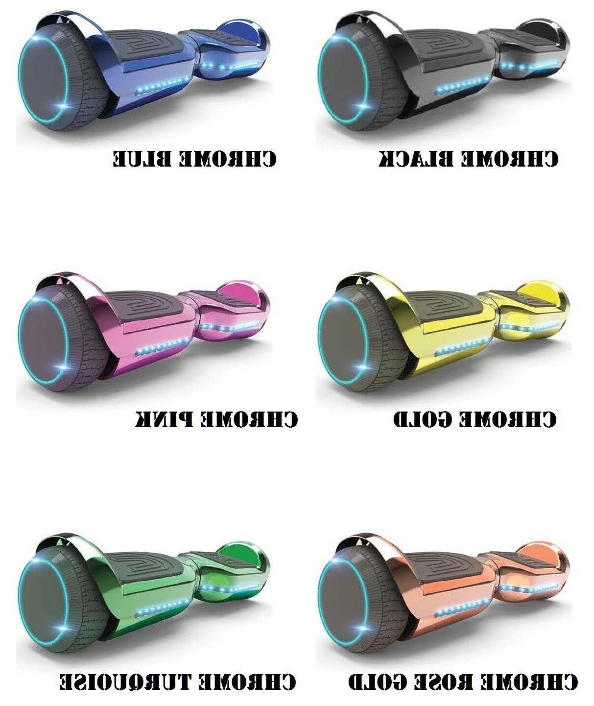 6 5 selfbalancing scooter bluetooth speaker led