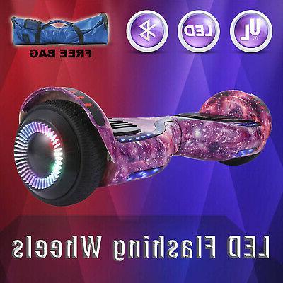 "6.5"" Two-Wheel Balancing Hoverboard Bluetooth UL"