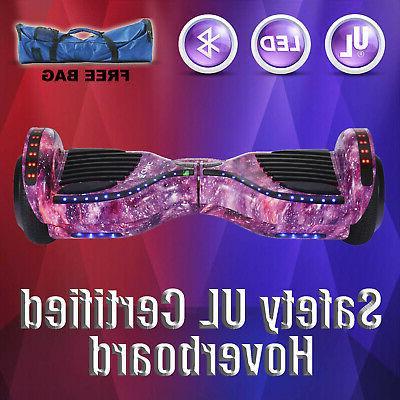 "6.5"" Two-Wheel Self Balancing Hoverboard UL 2272+Bag"