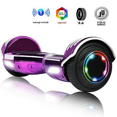 Bluetooth Hoverboard LED Hoverheart UL2272 Self Balancing Ch