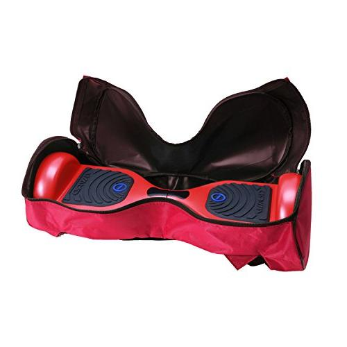 Eyourlife Waterproof Material Portable Durable Handbag Storage Red
