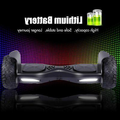 "8.5"" Off Road Electric Balancing Wheels UL Hummer bag"