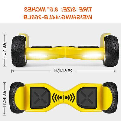 "8.5"" Hoverboard Board Self-Balance Motors Electric Scooter"