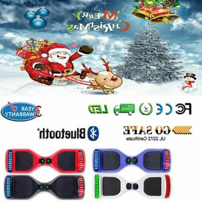 8.5'' Bluetooth Hoover Hoverboard Hoverheart UL