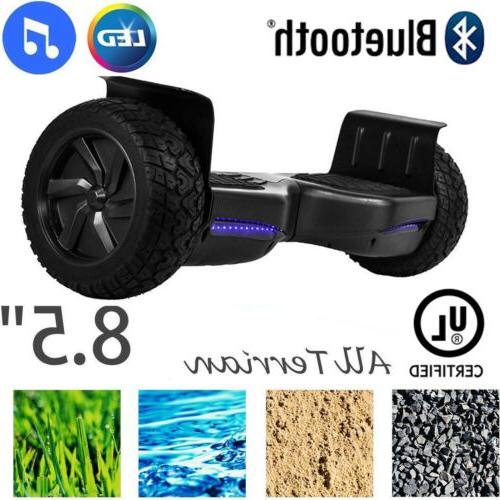 8 5 off road bluetooth hoverboard self