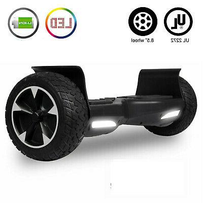 8 5 off road hoverboard electric balancing