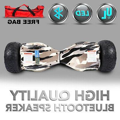 """8.5"""" OFF-Road Self Hoverboard Speaker UL 2272+Bag"""