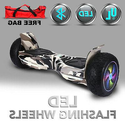 "8.5"" Self Balancing Hoverboard Bluetooth Black"