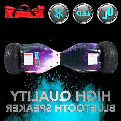 Bluetooth OFF-Road Galaxy Hoverboard Self Scooter All