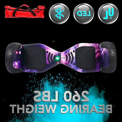 Bluetooth Galaxy Hoverboard Scooter All Terrain Pin