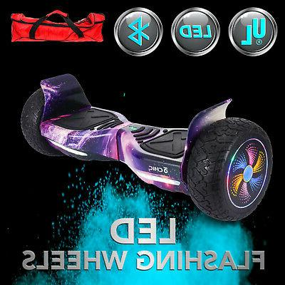 "Bluetooth OFF-Road 8.5"" Hoverboard balancing All Terrain Pin"