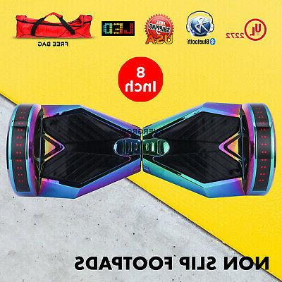 8 inch Chrome Hoverboard Bluetooth Self Balancing