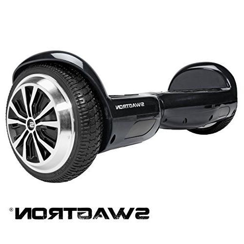 Swagtron® - T1 Self-balancing Scooter - Black