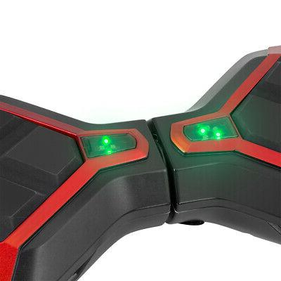 XtremepowerUS Inch Off-Road Self-Balancing Hoverboard, Red