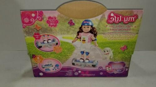 """Remote BALANCING Hover BOARD for 18"""" American Girl"""