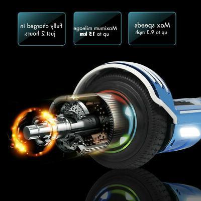 Bluetooth Hoover LED 6.5 Chrome