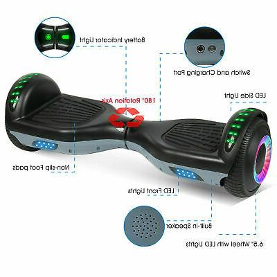 Bluetooth Hoverboard Electric Balancing Safety For Kids no