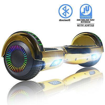 Bluetooth Hoverboard UL2272 Balancing no Bag Gold