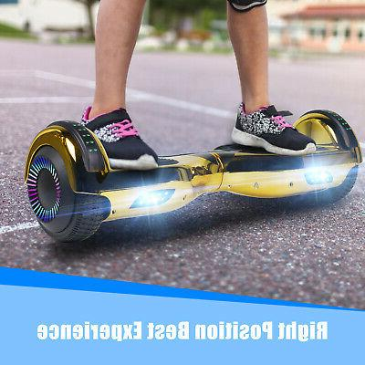 Bluetooth Hoverboard Balancing Scooter no Bag Gold Gift