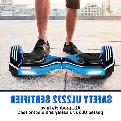 Bluetooth Balancing LED Bag ChromeBlue