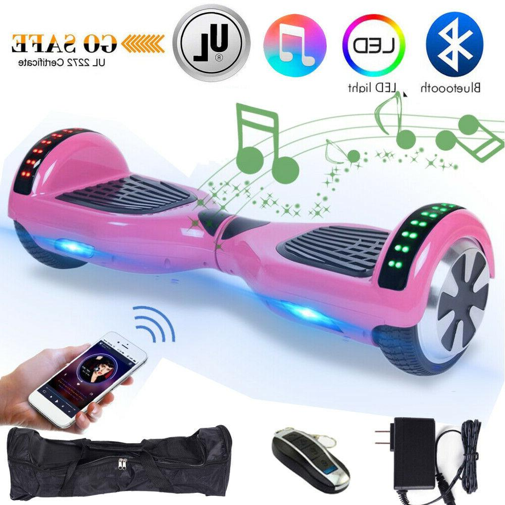 Electric Hoverboard Balancing Scooter UL2722 Certified MA