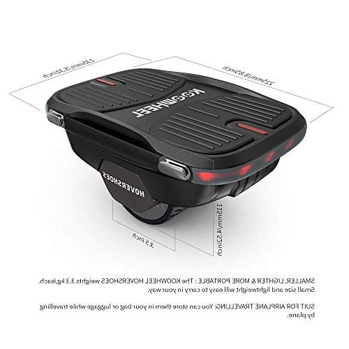 Koowheel Self Balancing One Hovershoes Hoverboard | Roller Drift Freeline Skate Hover Balance Scooter-UL Dual Max