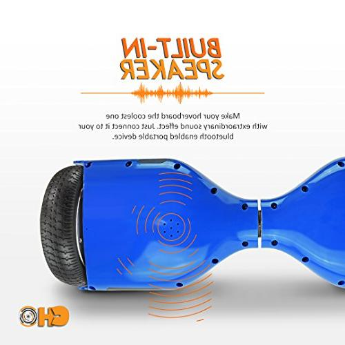 Dual Motors Hoverboard with LED Lights - Certified
