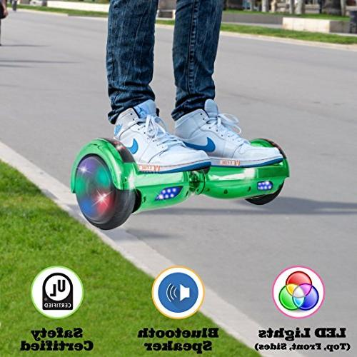V-Fire Scooter Two-Wheel and Colorful LED - UL 2272