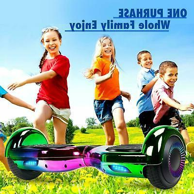 Electric Self Scooter LED Hoverboard UL2722 Certified